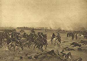 Battle of Malplaquet, 1709 by Henry Dupray