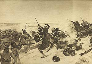 Battle of Tel-El-Kebir, 1882 by Henry Dupray