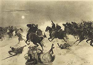 Charge at Kassassin, 1882 by Henry Dupray (P)