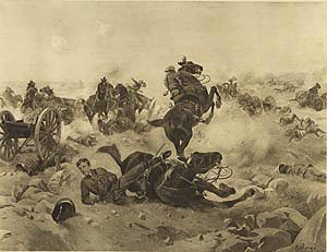 Battle of Colenso, 1899 by Henry Dupray