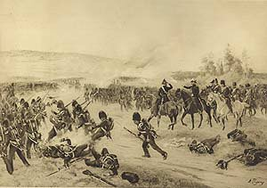Battle of the Alma, 1854 by Henry Dupray (P)
