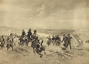 Allies Before Paris, 1814 by Henry Dupray. (P)