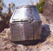 Paperweight: German Pot Helm c.1200AD