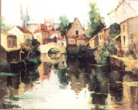 Chartres by Lucien L Chenu.