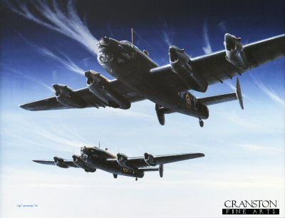 No.76 Squadron Halifax by Ivan Berryman. (GS)