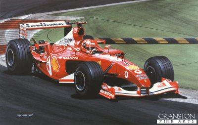 Schumacher by Ivan Berryman.