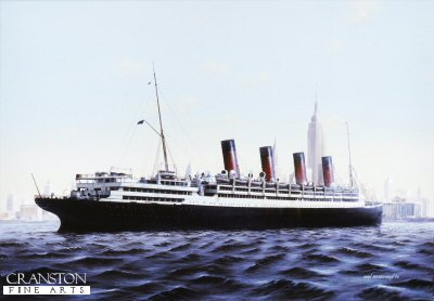 Aquitania by Ivan Berryman.