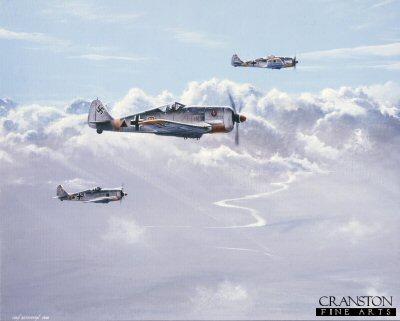 Fw190s by Ivan Berryman.