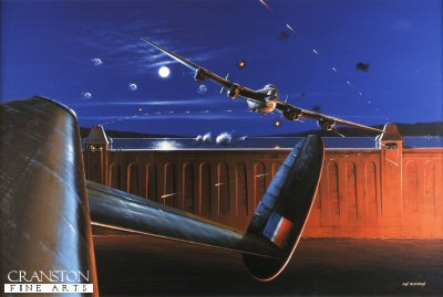 Dambusters over the Mohne by Ivan Berryman.
