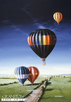 Hot Air Balloons by Ivan Berryman. (GS)