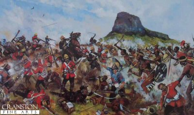 Isandlwana 22nd January 1879 - The Death of Private W Griffiths VC by Jason Askew