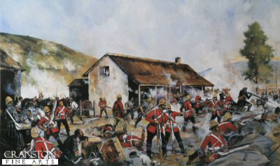 Rorkes Drift 22nd January 1879 - Defending the Hospital by Jason Askew