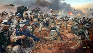 Strike on Karbala by James Dietz.