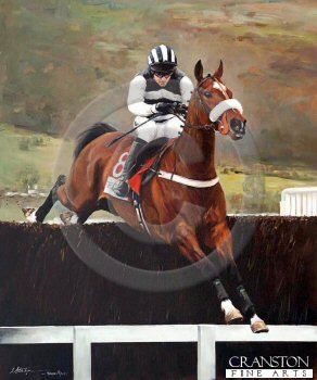 Moscow Flyer and Barry Geraghty by Jacqueline Stanhope.