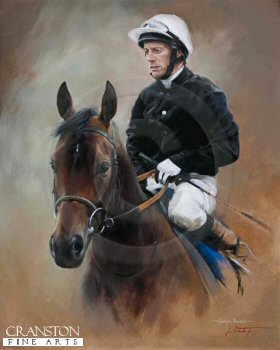 Ouija Board and Kieren Fallon by Jacqueline Stanhope.