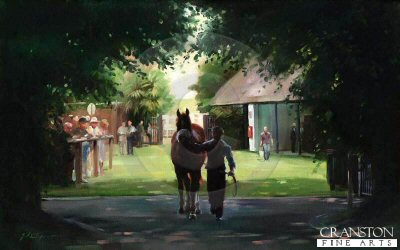 Through the Trees, July Course, Newmarket by Jacqueline Stanhope.