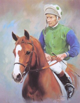 The Minstrel and Lester Piggott by Jacqueline Stanhope.