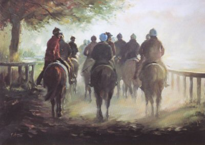 Heading Home by Jacqueline Stanhope.
