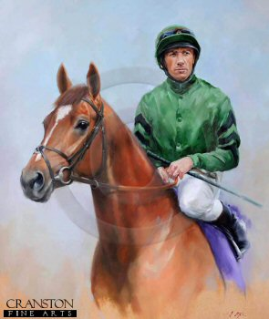 Raven's Pass and Frankie Dettori by Jacqueline Stanhope.
