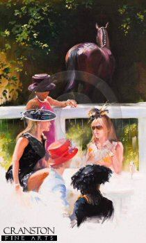 Ladies Day, Royal Ascot by Jacqueline Stanhope.