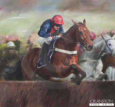 Bobs Worth and Barry Geraghty by Jacqueline Stanhope.