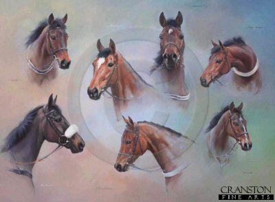 Festival Heroes - The Hurdlers by Jacqueline Stanhope.