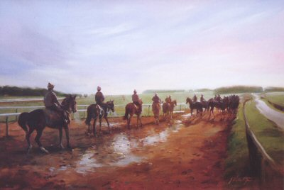 Long Hill, Newmarket by Jacqueline Stanhope.