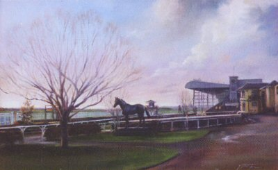 The Curragh (Parade Ring) by Jacqueline Stanhope.