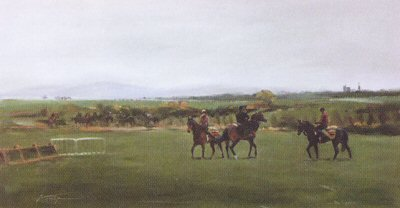 The Curragh (Schooling Ground) by Jacqueline Stanhope.