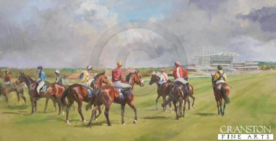 The Rowley Mile, Newmarket by Jacqueline Stanhope.