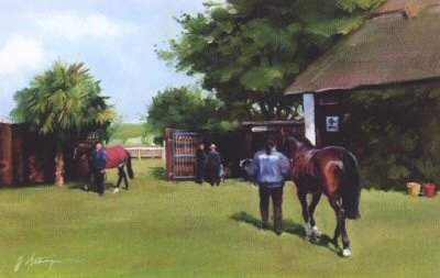 July Course, Newmarket by Jacqueline Stanhope.