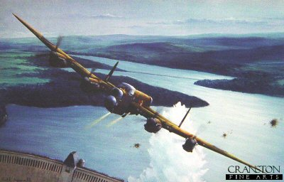 Gibson Over the Mohne by Keith Aspinall.