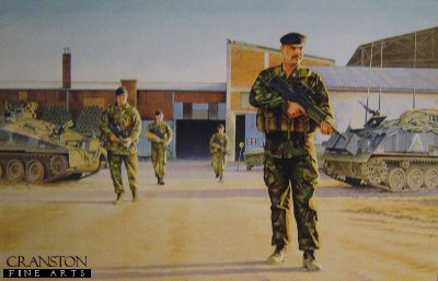 1st Field Squadron Royal Engineers, Kosovo 1996 by Kevin Lyles. (AP)