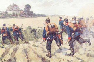 Infanterie fprungweife vorgehend by R Knotel