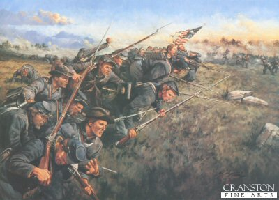 The Last Full Measure, 1st Minnesota Regiment at Gettysburg by Keith Rocco.