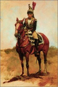 Cuirassier Officer by Keith Rocco.