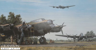Lancasters by Keith Woodcock. (PC)