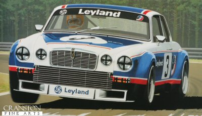 Jaguar XJ12C by Keith Woodcock.