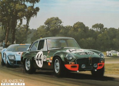 MGCGT at Sebring by Keith Woodcock