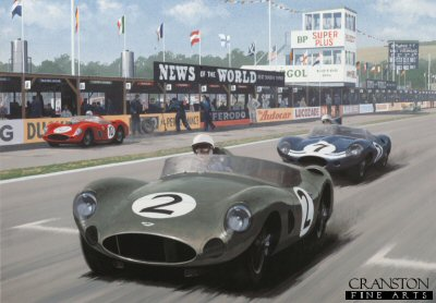 Aston Martin World Champions by Keith Woodcock.