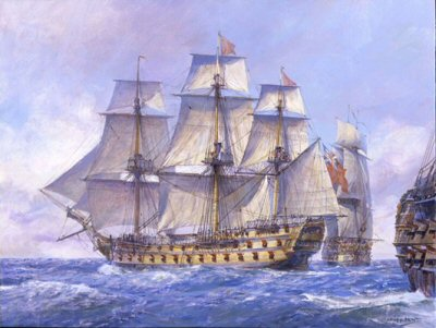 HMS Captain by Geoff Hunt.