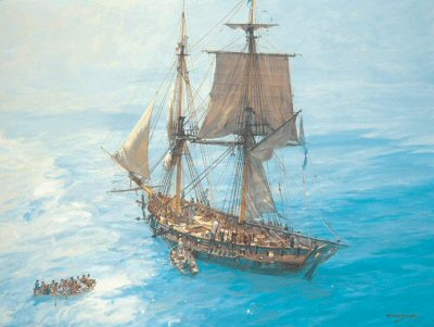 HMS Speedy by Geoff Hunt.