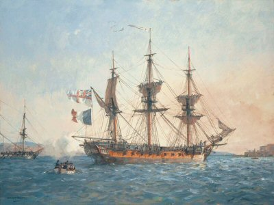 HMS Surprise by Geoff Hunt.