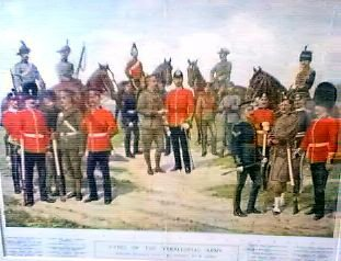 Types of the Territorial Army by Richard Simkin (P)