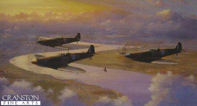 Spitfires - September 1940 by Barry Price.