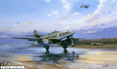Luftwaffe Messerschmitt Me262A-1a by Barry Price.