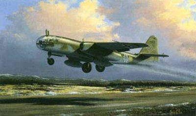 Luftwaffe Arado 234 B-2 by Barry Price.