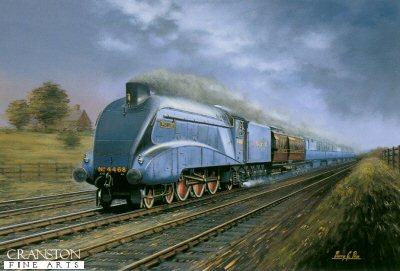 Mallard - 3rd July 1938 by Barry Price.