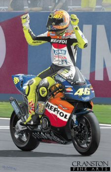 Rossi Reigns Supreme by Ray Goldsbrough.