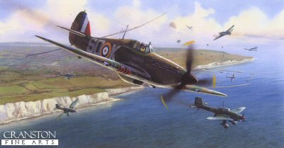 Battle Above Dover by Adrian Rigby.